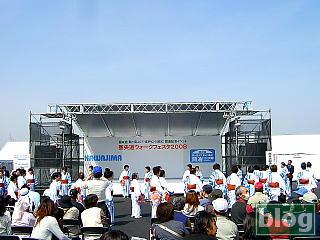 川島会場の写真
