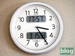 デジタル温湿度計・カレンダー付電波時計の写真
