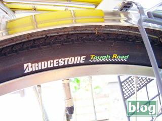 ブリヂストン Tough Road タイヤの写真