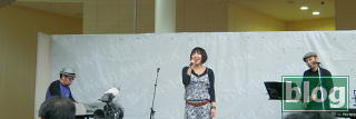 金子麻美さんのフリーライブの写真