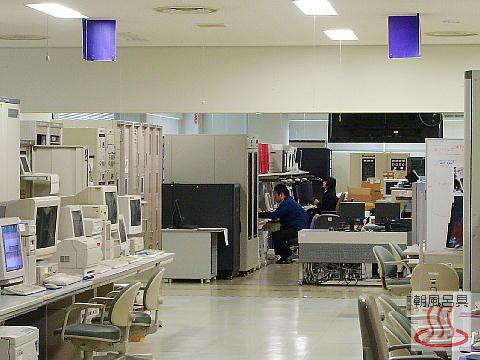 第1運用棟内部の写真